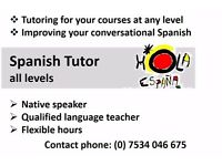 Spanish tutor- Native speaker with several years experience and teaching qualifications