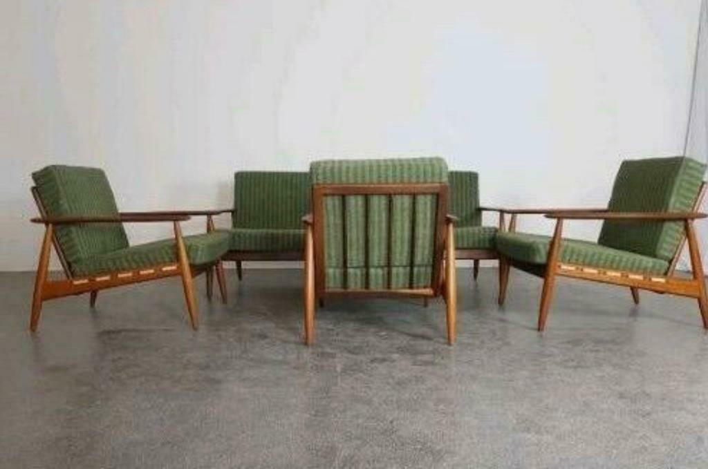 Grete Jalk Sofa set/ mid century/ danish | in London | Gumtree