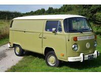 1972 VW Type 2 camper van panel van