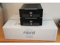 NORD HYPEX - A Pair of Nord One UP NC500 Mono Block Amplifiers – Fitted with Sonic Imagery OP AMPS