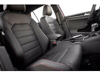 Mk7 golf gti r full leather interior red stitching
