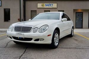 2004 Mercedes-Benz E-Class E320 4MATIC, SUNROOF, HEATED SEATS