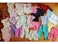 Baby Girl Clothes Bundle for 6-12 months