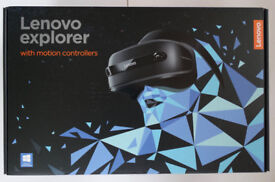 Lenovo Explorer windows mixed reality headset with motion controllers BNIB seals unbroken