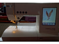 Pfaff 2140 Embroidery/Sewing machine with many extras---ready to go