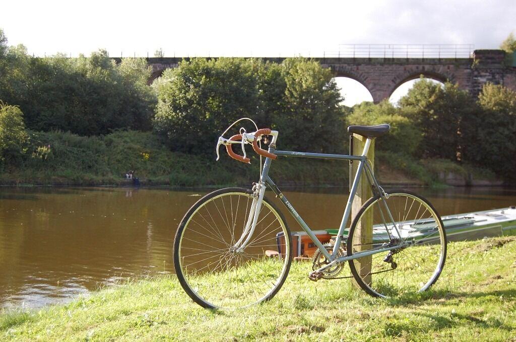 Retro Dawes Lightning Mens Road Racing Bike Large 25 Steel Frame