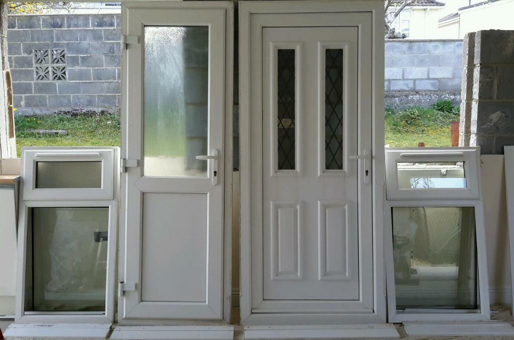 Back door upvc images for Double back doors