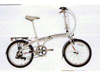 Falcon Go To Alloy Folding Bike 6 spe /white