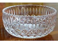 Vintage Royal Brierley crystal bowl