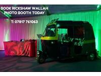 RICKSHAW PHOTOBOOTH