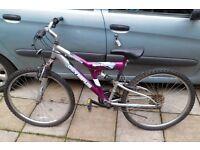 2 bikes/ bicycles