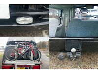 Newshape Mazda Bongo AFT + Bike Rack, Tow-Bar, Sat Nav DVD digital TV, Stainless Exhaust & Awning