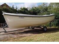 Shetland Dell Quay fishing boat 16