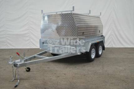 Tradesman Top Trailer - Canopy on Tandem Trailer HIGH QUALITY