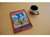 Photo Guide Book of Budapest + Budapest Mug.