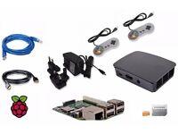 Raspberry Pi3 - RETRO PIE - RETRO GAMING - SNES - MEGA DRIVE, NINTENDO - PLUG & PLAY INC CONTROLLERS