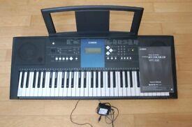 Yamaha PSR-E333 Touch-Sensitive Digital Keyboard
