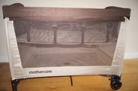 Mothercare Travel Cot in Very Good Condition