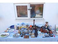 Mixed lot of 60 antique collectibles to clear