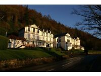 HOLIDAY FLAT FOR RENT KILMUN DUNOON (STUNNING LOCATION)