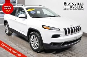 2017 Jeep Cherokee LIMITED - V6 - AWD - CUIR - TOIT - GPS
