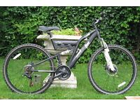 "MUDDY FOX STORM MENS 22"" MOUNTAIN BIKE - Exceptional Condition"
