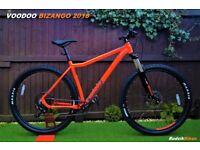 VooDoo Bizango 29er 2018 Mountain Bike-used once rrp650