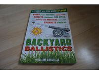 Backyard Ballistics book