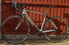 Specialized Roubaix Carbon road bike 54cm-perfect condition with new 11 speed groupset