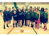 WOMEN'S BASKETBALL TEAMS IN LONDON - JOIN US NOW!