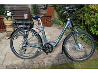 Raleigh Velo XC Adults Electric Bike - 14 months old - as new condition