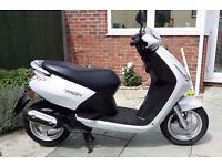 Peugeot Vivacity 3 Moped / Scooter 50cc 2-stroke ~ MOT March 2018 ~ HPI Clear