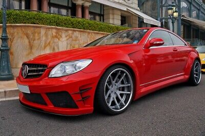 MERCEDES CL W216 CL500 CL600 CL63 AMG CL 65 AMG BLACK SERIES BODY KIT 2006-2010