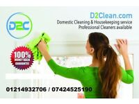 End of Tenancy cleaning /Deep cleaning/Domestic Clean/Carpet clean/Cleaning service/Office clean