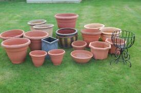 Assorted Garden Planters