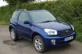 Toyota RAV4 2L petrol, manual 4WD. Good condition, well looked after.