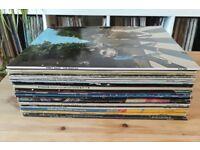 28 LP's (Beatles/Rolling Stones/Elton John/Lou Reed/Stevie Wonder) superb classic vinyl albums/LPs!