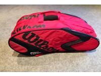 Wilson 3 racket squash bag