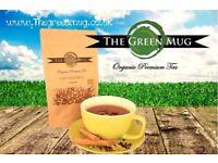 The Green Mug, 100% Organic Tea