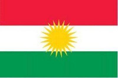 Kurdistan Kurden Asien Flagge Fahne Gr. 1,50 x 0,90m NEUWARE Fahnen Flaggen