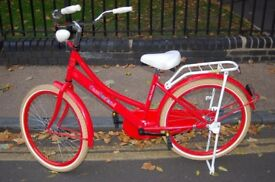 CUTE VIBRANT RED Dutch Style Bicycle