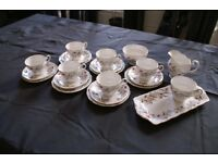 Royal Standard 'Fancy Free' Vintage English China Tea Set