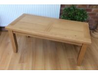 Excellent, Solid Oak Coffee Table, New / Boxed