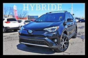 2017 Toyota RAV4 Hybrid SE TOIT MAGS NAV
