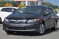 2012 Honda CIVIC AUTO+ AIR LX  GARANTIE PROL
