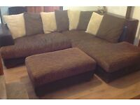 Lovely corner sofa - Bargain - Reduced for quick sale!!!!