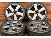 "Audi A3 18"" S Line Genuine Alloy Wheels 5x112 Volkswagen Golf/Seat Leon"