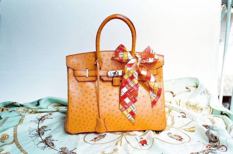 Die Birkin Bag ist eine der begehrtesten Vintagetaschen. (Wen-Cheng Liu (CC BY-SA 2.0))