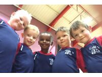 FOOTBALL SKILLS FOR CHILDREN UP TO FIVE YEARS OF AGE