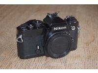 Nikon FE 35mm SLR camera body
